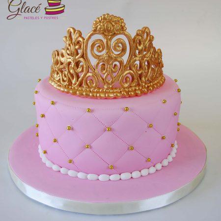 Corona de Princesa Glace Pasteles y Postres