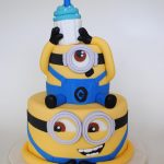 Glace pasteles y postres Minions