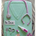 Glacé Pasteles y Postres Bata de Doctora