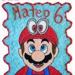 Mario Bros Quequitos Glace Pasteles y Postres