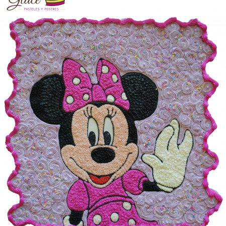 Minnie Mouse Glacé Pasteles y Postres