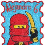 Ninjago Quecos Glace Pasteles y postres