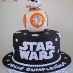 Star Wars Fondant Glacé Pasteles y postres