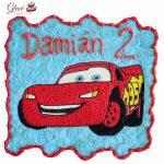 Rayo McQueen Cars quequitos monterrey Glace Pasteles y Postres